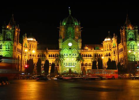 chhatrapati shivaji terminus mumbai hd travel wallpapers