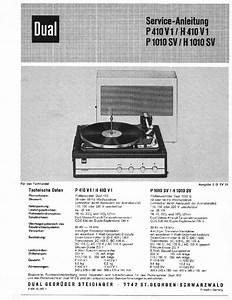 Dual P41 Hs11 Tv62 Record Player Lemezjatszo Sm Service