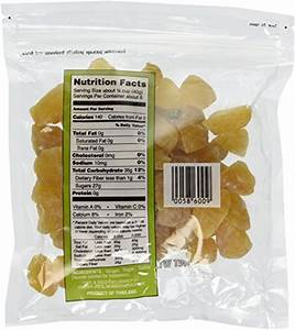Trader Joe's Uncrystallized Candied Ginger, 2 Packages New ...
