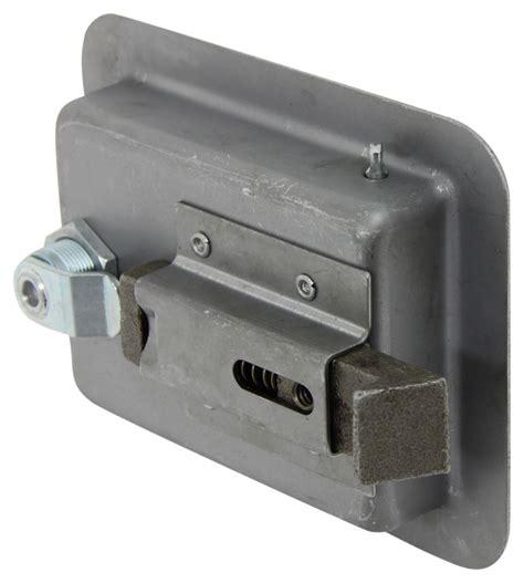 trailer door latch size locking steel flush door latch redline enclosed