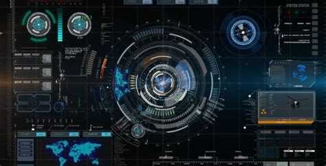 Futuristic Hud Element With Background By Nataad Videohive