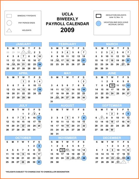ucla monthly payroll calendar payroll calendars