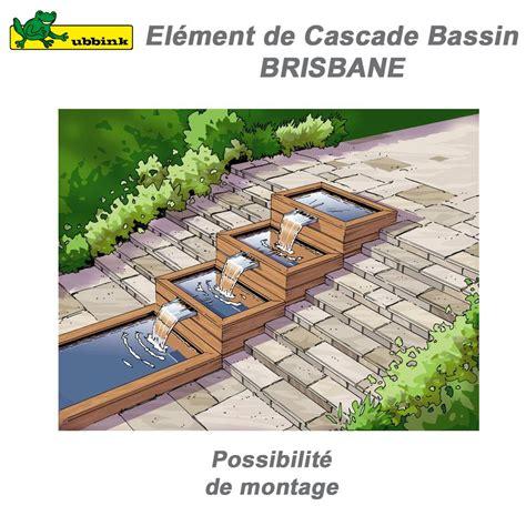 cascade de bassin de jardin ext 233 rieur brisbane 30 ubbink 1312023 ub