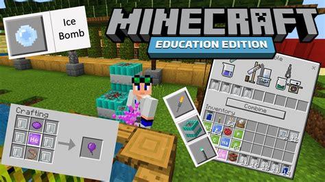 items  minecraft education edition  youtube