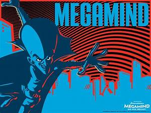 Megamind, Animation, Comedy, Action, Family, Superhero, Alien, Sci, Fi, Psychedelic, Wallpapers, Hd