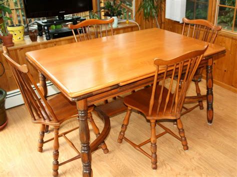 maple kitchen tables for sale vintage 1940s traditional solid maple dining set table
