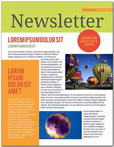 how to make a newsletter in 9 steps lucidpress With open office newsletter templates