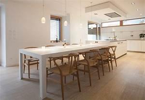 Cuisine b3 ain realisation bulthaup espace de vie for Salle À manger contemporaine avec modele cuisine scandinave