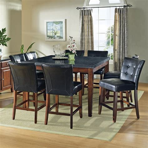 steve silver granite bello 9 gathering table set