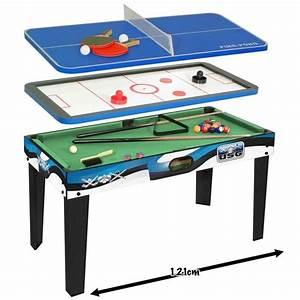 Table Jeux D Eau : usg table multi jeux 3 en 1 achat vente table multi ~ Melissatoandfro.com Idées de Décoration