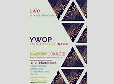 Youth Week of Prayer 2018 – Croydon Seventhday Adventist