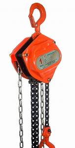 1 Ton Manual Chain Block Hoist From China Manufacturer
