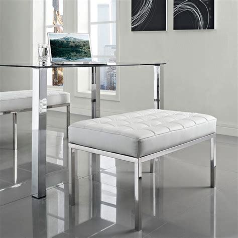 modern benches studio small leather bench eurway
