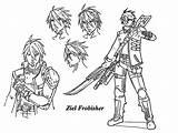 Cartoonize Coloring Character Ziel Frobisher Wecoloringpage sketch template