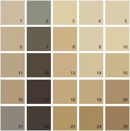 benjamin moore paint colors brown palette 11 house