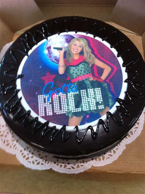 hannah montana birthday cake rubys birthday pinterest