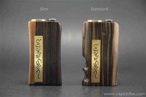 Baybayin Wood Progek Rizal Full Mechanical Box Mods