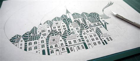 incredible paper art hand cut  single sheets  paper