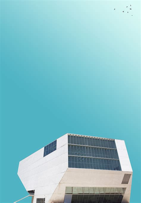 art director creates calm minimalist images