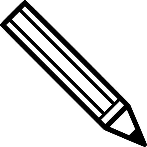 pencil clipart png black and white pencil svg png icon free 468568