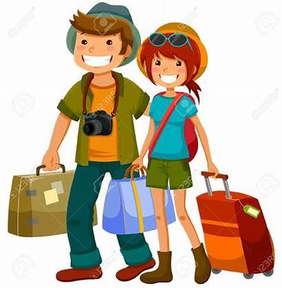 Clipart Traveller Tourist Travellers Woman