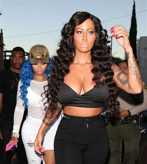 She?s Not Always Bald ? Check Out Amber Rose?s Long Hair