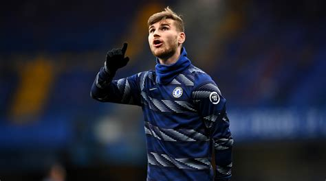 Timo Werner Set To Lead Chelsea Attack In Champions League ...