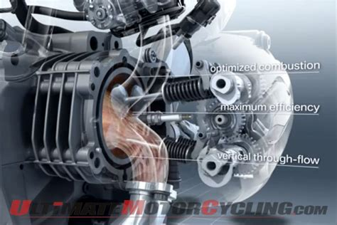 view of 2013 bmw r1200gs boxer engine