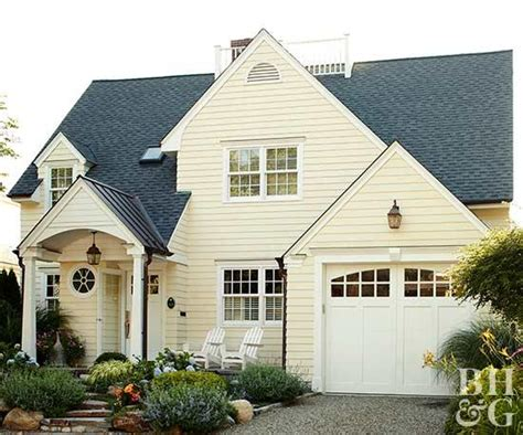 exterior color combinations    homes
