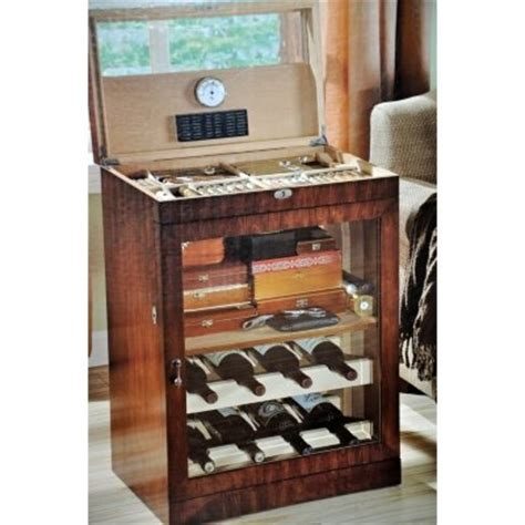 Cigar Humidor Cabinet Combo by Wine