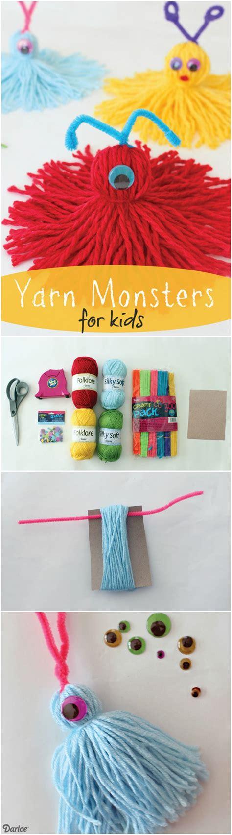 yarn activities for preschoolers best 25 yarn monsters ideas on crafts 733