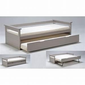 Ikea Lit 90x190 : lit gigogne 90x190 achat vente lit gigogne 90x190 pas ~ Teatrodelosmanantiales.com Idées de Décoration