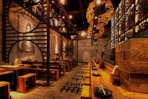 cuisine style americain décoration d 39 un restaurant japonais par mojo design