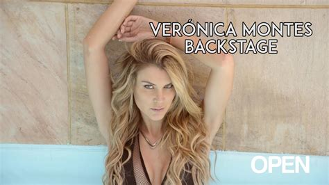 veronica montes backstage youtube
