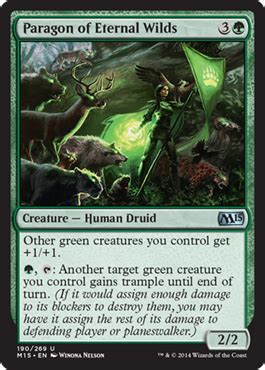 form give up green card setting up the paragons magic the gathering