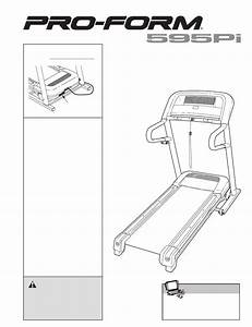 Proform Treadmill 595pi User Guide