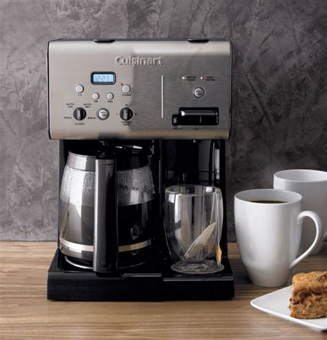 Cuisinart coffee maker self clean feature. Cuisinart ® Programmable 12 Cup Coffee Maker with Hot Water System | Cuisinart coffee maker ...