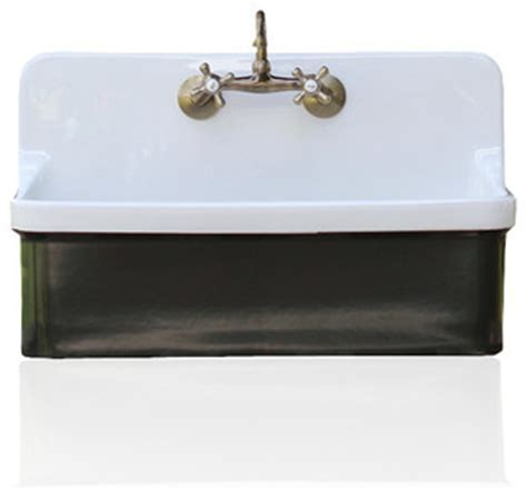 Studio Green Vintage Style High Back Farm Sink Kohler