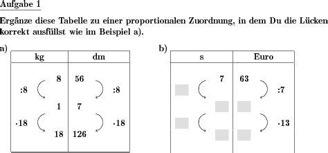 dreisatz sehr einfach individuelle mathe arbeitsblaetter