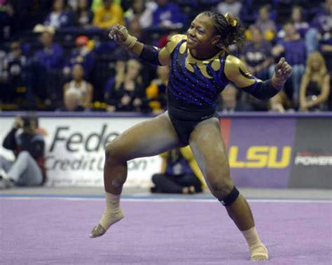 hip hop gymnastics floor routine the lsu gymnast whose 10 hip hop floor