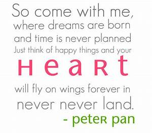 25 Famous Disney Peter Pan Quotes