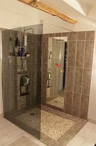 idee salle de bain douche italienne evtod With idee salle de bain italienne