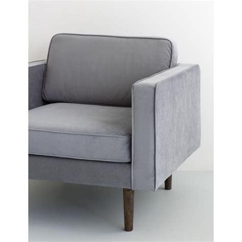 broste copenhagen fauteuil scandinave en tissu velours