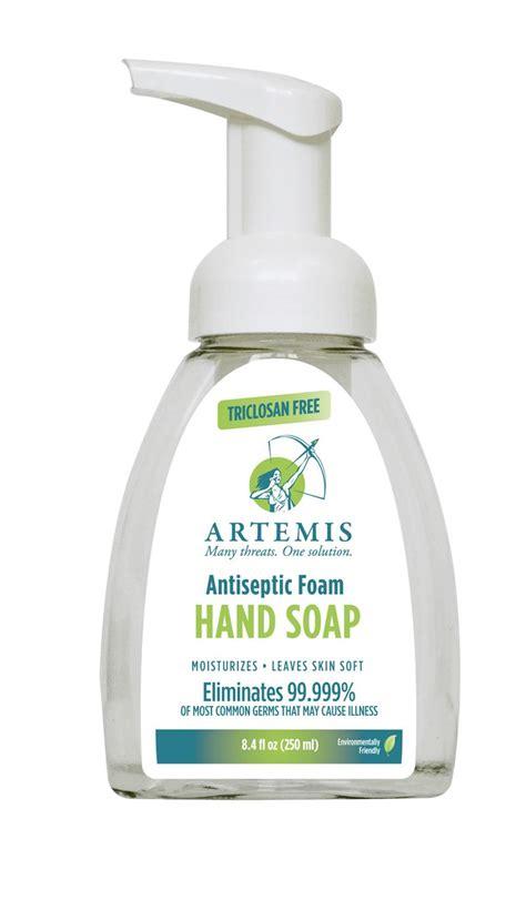 artemis foaming antibacterial hand soap   usa fda
