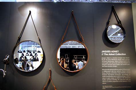 miroir adnet   cm reedition  noir gubi