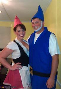 Homemade Gnomeo and Juliet Costume for Couples