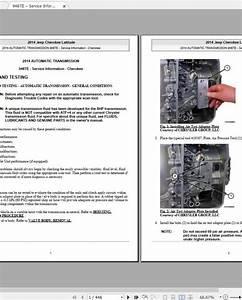 Jeep Cherokee Latitude-trailhawk-sport  2014-2019  Workshop Manual  U0026 Wiring Diagram
