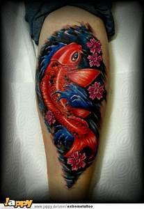 Koi Tattoo Vorlagen : tattoos zum stichwort koi karpfen tattoo lass deine tattoos bewerten ~ Frokenaadalensverden.com Haus und Dekorationen
