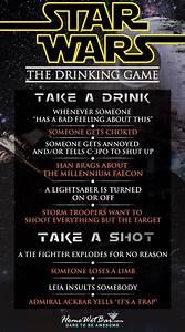 Star Wars Trinkspiel : sorry about the hot mess a star wars drinking game ~ Watch28wear.com Haus und Dekorationen