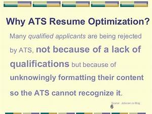 optimize your resume for ats plainfield library sept 21 With ats optimization